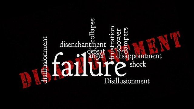 Failure fracaso